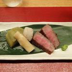 こうもと - 飛騨牛のステーキ