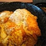味波 - 鶏ささみカツ丼味噌汁付