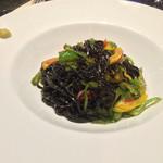 シャンパン食堂の洋食屋さん - イカスミパスタ