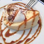41780550 - ランチデザート「ミニョン」(ふわふわのチーズケーキ)