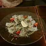 cafe&pub Kensington - 鮮魚のカルパッチョ