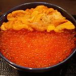 41780893 - 2色丼(ウニ・イクラ)
