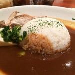 BISTRO DE まいど - 鶏むね肉グリルとお豆腐のカレー