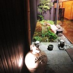 神楽坂 石かわ - 入口