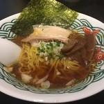 三崎港ラーメン - 魚介だしあっさり中華そば醤油