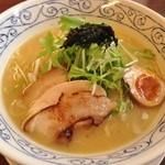 鶏骨スープ 青桐 - 鶏骨醤油ラーメン(730円)