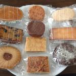 リエーブル - 料理写真:焼菓子詰め合わせ10個入りの中味