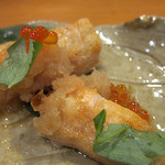 日本料理 旬坊 - 鮭ハラス焼き いくらおろしがけ