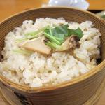 日本料理 旬坊 - 松茸ご飯
