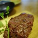 41787756 - 牛フィレ肉の炭火焼 120g 890円