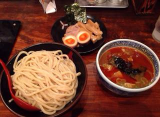 三田製麺所 五反田店 - つけ麺中盛  三田盛り  辛味  ¥1080