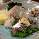 とりで寿司 - 白身魚皿