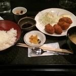 気分上々 - 日替わり定食(450円)カキフライ(第一回投稿)