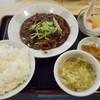 福満楼 - 料理写真:牛肉の細切りみそ炒め定定食