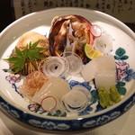 富小路 春隆 - お造り (2015/08)