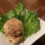 ちぃりんご - 昆布と椎茸入りポテトサラダ  380円