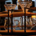 emu cafe - お手製のドリッパースタンド