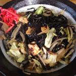 河津屋食堂 - 海賊焼¥600