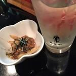 庄司 - 焼酎の水割り&お通し