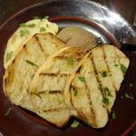 41794903 - 地鶏レバーペースト 自家製パン添え