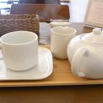 カシカシ - 紅茶はポットサービス ミルクは温めて☆♪
