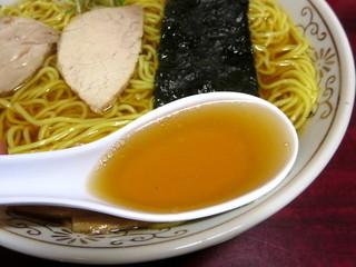中河 - 中華そば/スープ