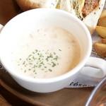 グッドネイバーズコーヒー - クラムチャウダースープ  '15 8月中旬