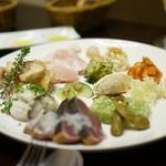 オッジ ダルマット - 前菜盛り合わせ