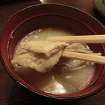 41798560 - 島寿司のネタのアラが入ったアラ汁