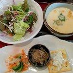 旬菜酒家 一心 - 前菜、サラダ、茶碗蒸し