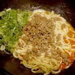 41802053 - 白い汁なしカレー坦々麺