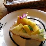 ジョジョズ カフェ&バー - ペリカンマンゴーのタルト ¥600