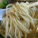 ラーメン大将 - 「とんこつラーメン」自家製の低加水ストレート細麺
