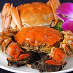 上海蟹(シャンハイガニの姿蒸し)