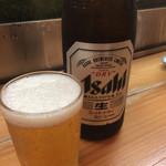 たから舟 - 生ビール(500円)