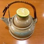 銀座鮨 - 土瓶蒸し