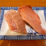 銀座鮨 - トロ