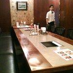 翠苑 - 2010/06/08 大部屋個室にて、 店長さん
