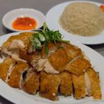 威南記海南鶏飯 - ローストチキン(1/4羽)・香り米【2015年9月】