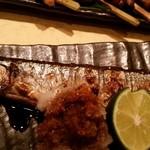 金碇庵 - 秋の味覚秋刀魚