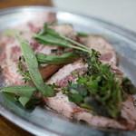 焼肉 はせ川 - 2015.9 イベリコ豚ハーブ焼き(600円)