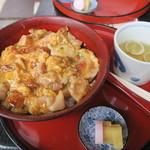 南ばら亭 - 阿波尾鶏炙り親子丼