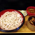 涼太郎 - ダブルつけ麺3L、850円