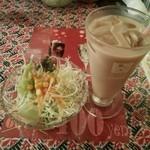 41814251 - ディナー2種の食べ放題コース、サラダ&ドリンク(チャイ)