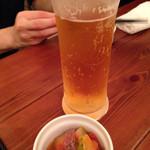 ビストロ カメレオン - フルーツ味のビールです