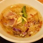 福島壱麺 - 海鮮塩らーめん 780円