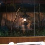 赤坂 菊乃井 - カウンターから見せる庭