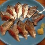 とんかつ 安右衛門 - 秋刀魚の刺身