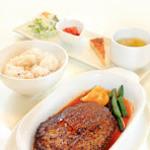 フトゥロ カフェ - 料理写真:ハンバーグディナーセット