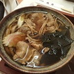 そば処丸花 - 料理写真:肉南うどん